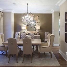 Elegant Dining Room Design Decorations17