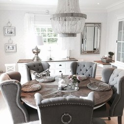 Elegant Dining Room Design Decorations37