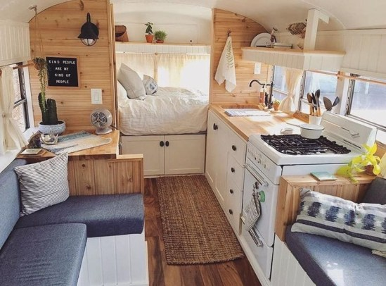 Fantastic Rv Camper Interior Ideas05