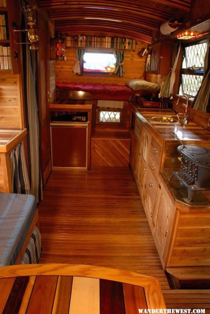 Fantastic Rv Camper Interior Ideas12