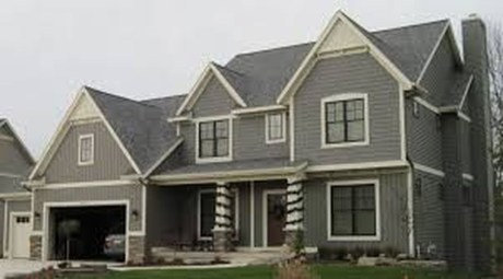 Ideas To Make Your Home Look Elegant With Vinyl Siding Color09