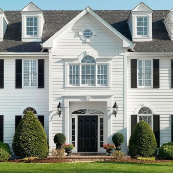 Ideas To Make Your Home Look Elegant With Vinyl Siding Color40