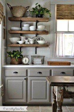 Inspiring Farmhouse Style Kitchen Cabinets Design Ideas18
