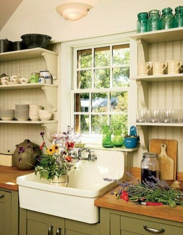 Inspiring Farmhouse Style Kitchen Cabinets Design Ideas28
