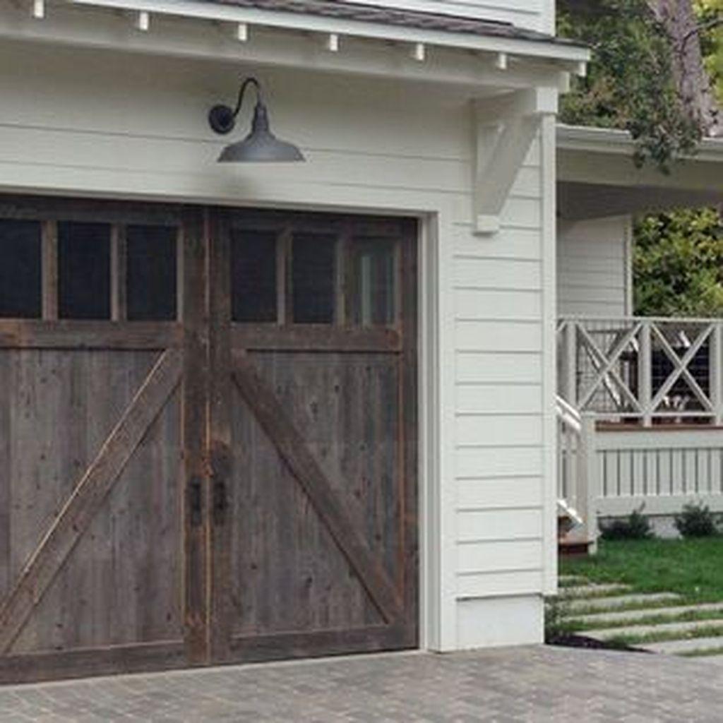 Inspiring Home Garage Door Design Ideas Must See23