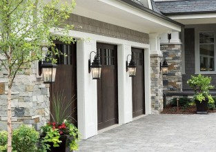 Inspiring Home Garage Door Design Ideas Must See32