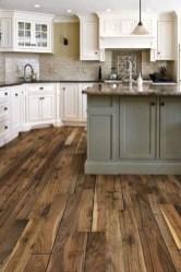 Inspiring Rustic Wooden Floor Living Room Design36