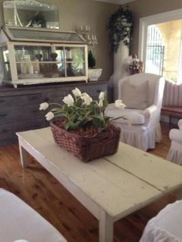 Inspiring Rustic Wooden Floor Living Room Design44