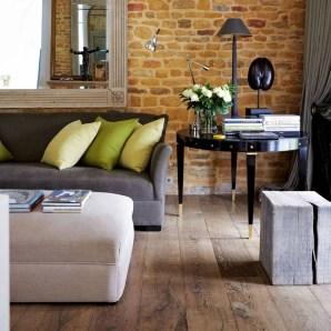 Ispiring Rustic Elegant Exposed Brick Wall Ideas Living Room18