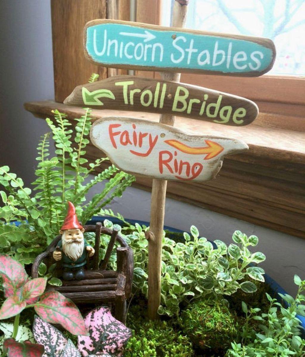 Stunning Fairy Garden Miniatures Project Ideas09