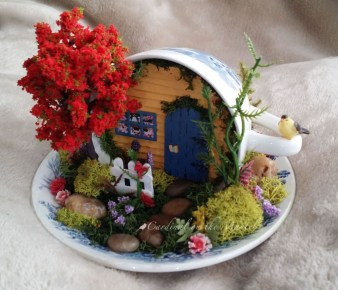 Stunning Fairy Garden Miniatures Project Ideas15