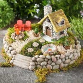 Stunning Fairy Garden Miniatures Project Ideas19