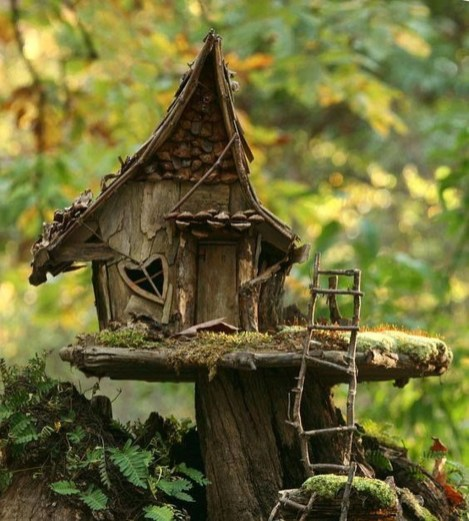 Stunning Fairy Garden Miniatures Project Ideas22