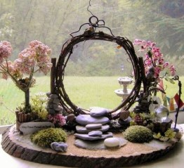 Stunning Fairy Garden Miniatures Project Ideas23