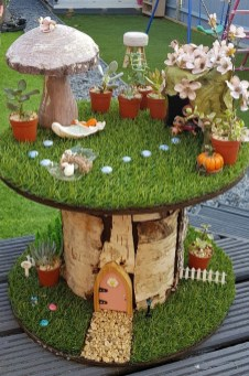 Stunning Fairy Garden Miniatures Project Ideas40