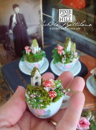 Stunning Fairy Garden Miniatures Project Ideas41