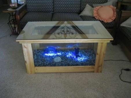 Amazing Aquarium Feature Coffee Table Design Ideas02