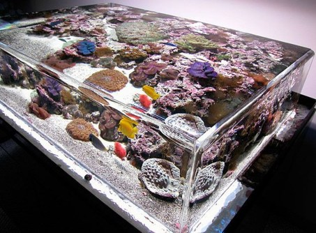 Amazing Aquarium Feature Coffee Table Design Ideas03