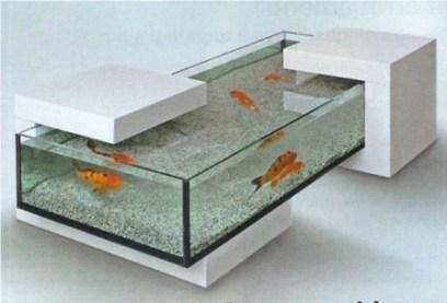 Amazing Aquarium Feature Coffee Table Design Ideas08