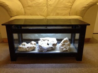 Amazing Aquarium Feature Coffee Table Design Ideas20