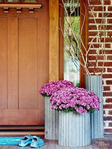 Awesome Front Door Planter Ideas10