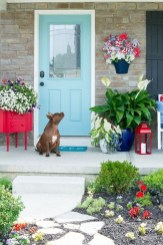 Awesome Front Door Planter Ideas17