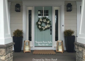 Awesome Front Door Planter Ideas18