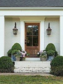 Awesome Front Door Planter Ideas26