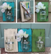 Awesome Ideas To Make Glass Jars Garden For Your Home Decor17