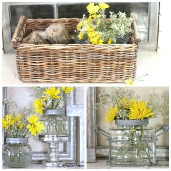 Awesome Ideas To Make Glass Jars Garden For Your Home Decor25