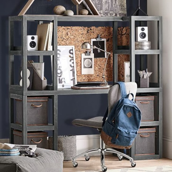 Awesome Study Room Ideas For Teens27