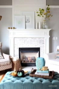 Awesome Teal Color Scheme For Fall Decor Ideas14