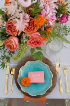 Awesome Teal Color Scheme For Fall Decor Ideas16