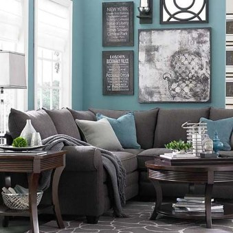 Awesome Teal Color Scheme For Fall Decor Ideas34