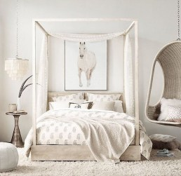 Elegant White Themed Bedroom Ideas14