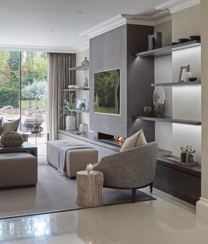 Fabulous Modern Minimalist Living Room Ideas34