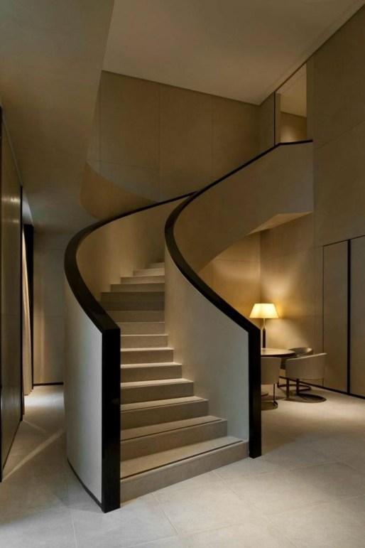 Inspiring Modern Staircase Design Ideas38