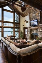 Inspiring Rustic Livingroom Decorations Home12