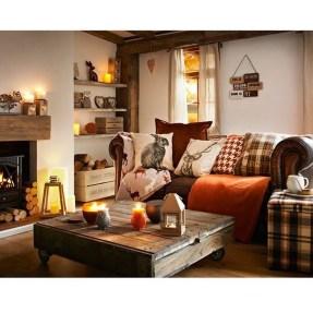 Inspiring Rustic Livingroom Decorations Home16