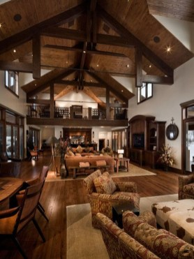 Inspiring Rustic Livingroom Decorations Home32