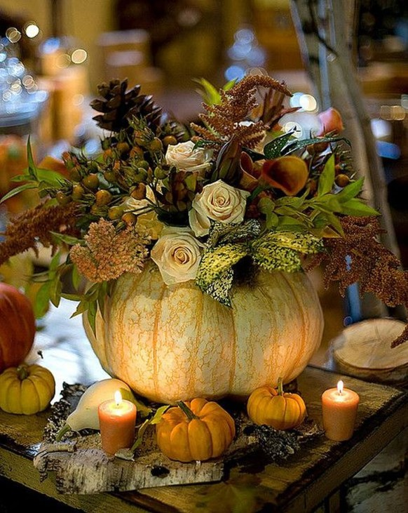Inspiring Thanksgiving Centerpieces Table Decorations36