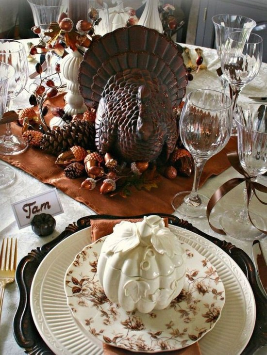 Inspiring Thanksgiving Centerpieces Table Decorations37