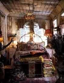 Inspiring Vintage Bohemian Bedroom Decorations23