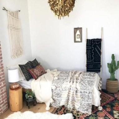 Inspiring Vintage Bohemian Bedroom Decorations28