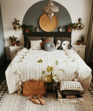 Inspiring Vintage Bohemian Bedroom Decorations42
