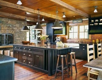Lovely Rustic Western Style Kitchen Decorations Ideas 06