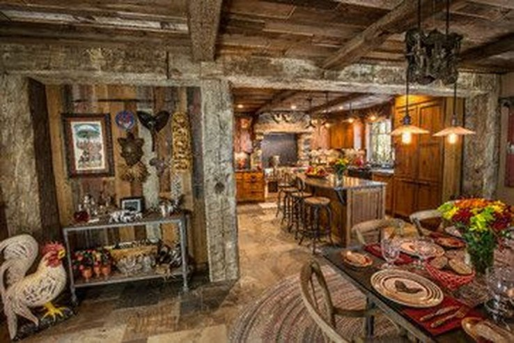 Lovely Rustic Western Style Kitchen Decorations Ideas 08
