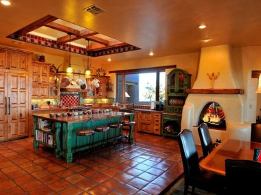 Lovely Rustic Western Style Kitchen Decorations Ideas 15
