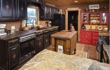 Lovely Rustic Western Style Kitchen Decorations Ideas 22