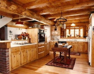 Lovely Rustic Western Style Kitchen Decorations Ideas 31